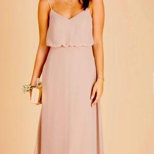 BIRDY GREY Gwennie Maxi Chiffon Gown Dress